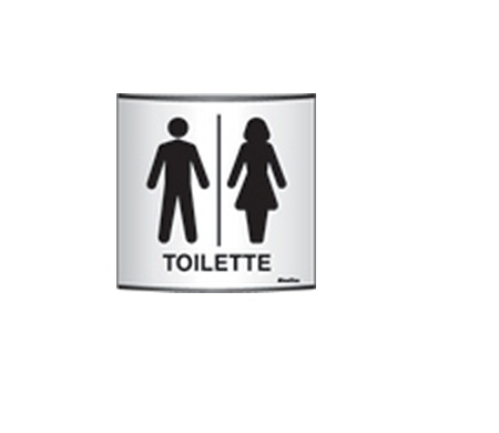 9f325b40b8acb Central do EPI - Placa Toilete